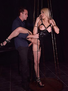 Shackled, Spanked & Penetrated free photos and videos on DDFNetwork.com