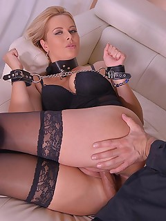 Subby in Handcuffs Fucked Hard free photos and videos on DDFNetwork.com
