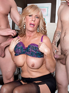 60 Plus MILFs - A power ass-fucking for the power boss - Phoenix Skye, James Kickstand, and Johnny Champ (50 Photos)