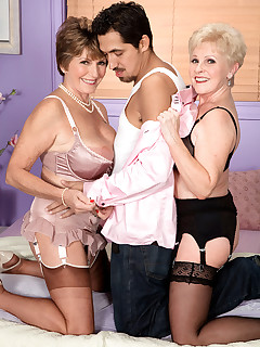 60 Plus MILFs - It Finally Happened, And We Have The Pictures! - Bea Cummins, Jewel, and Juan Largo (70 Photos)