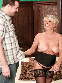60 Plus MILFs - A Cream Pie For Deanna's Sixtieth Birthday - DeAnna Bentley and John Strange (62 Photos)