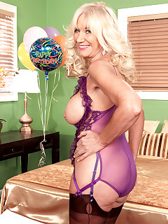 60 Plus MILFs - Happy 60th Birthday, Summeran! - Summeran Winters and Castro Supreme (58 Photos)