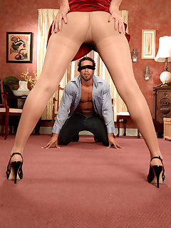 Leg Sex - Beg For It Slave Boy! - Kiki Marie and Carlos Rios (70 Photos)