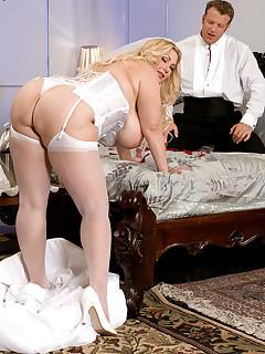 XL Girls - My Big Plump Wedding and Honeymoon - Samantha 38G and Seth Dickens (50 Photos)