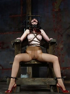 Infernal Restraints | Extreme Device Bondage and Metal Restraints | Kendra Bound and Fucked